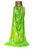 Парео в Зелено-Жълт цвят