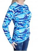 Дамска Камо тениска с Дълъг ръкав