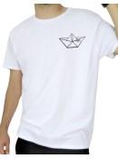 Бяла тениска Лодка