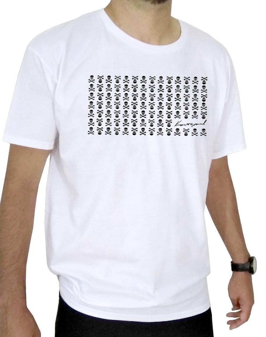 Бяла тениска 1001 pirate
