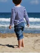 Детска моряшка блузка с дълъг ръкав