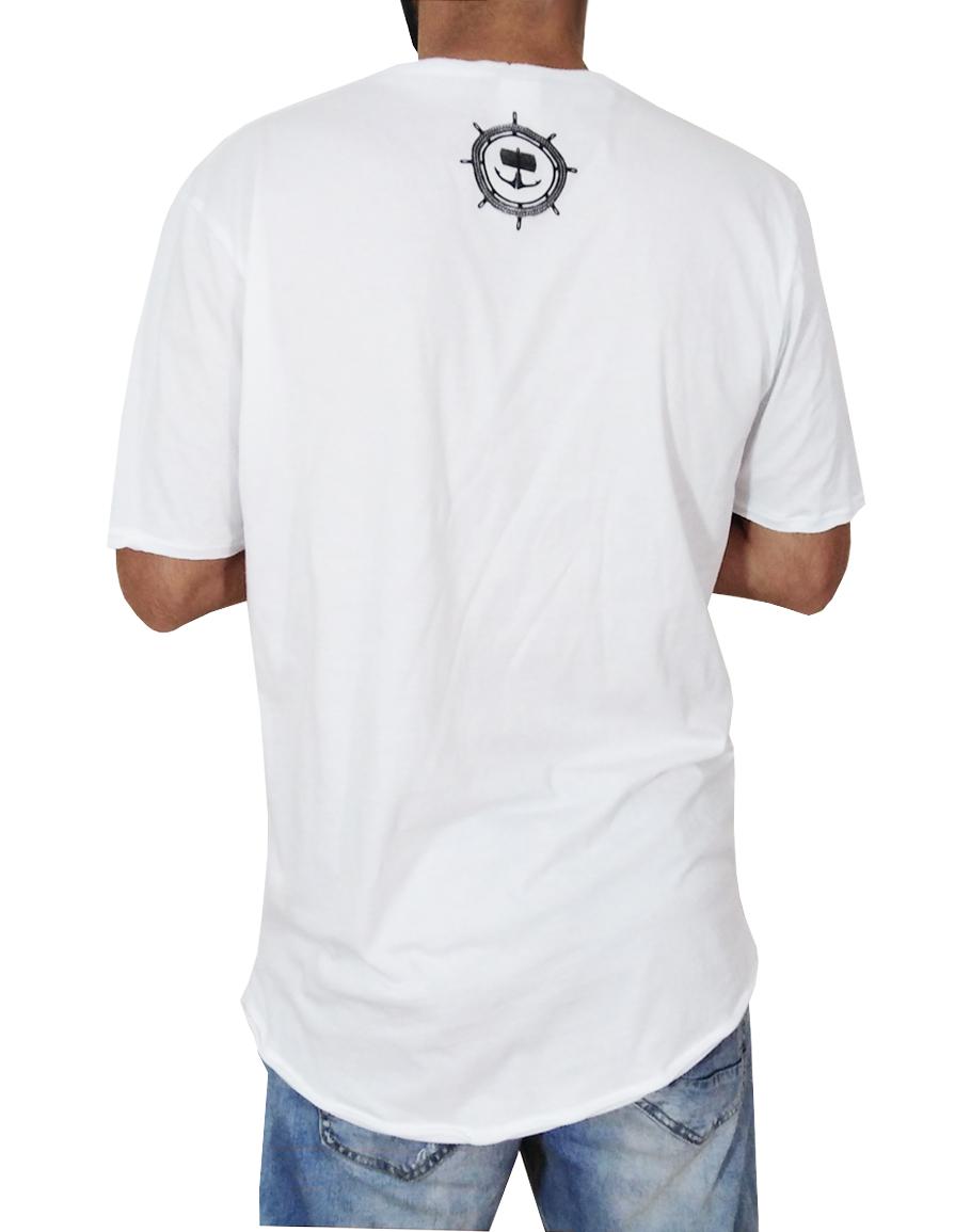 Бяла тениска с Лодка - Long